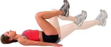 Evde Popüler Bacak Egzersizleri
