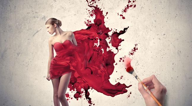Kadınlar İçin Kırmızı Giyen Kadınlar Bir Tehdit